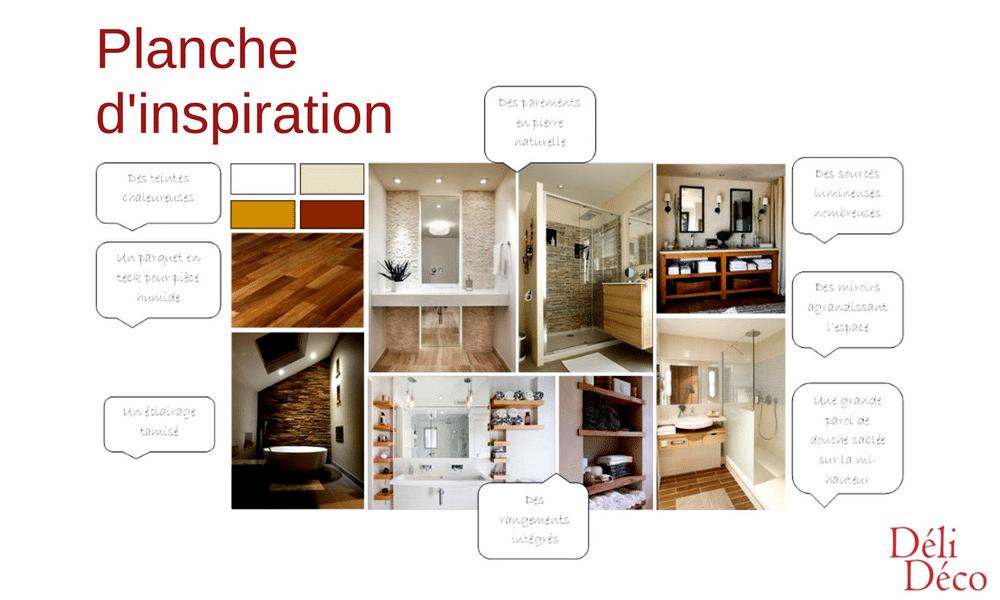planche inspiration salle de bain