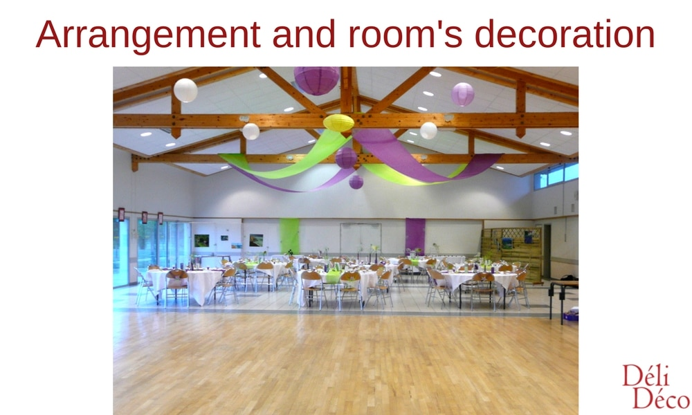 arrangement and room's decoration