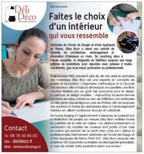 article n°395 magazine 7 à Poitiers