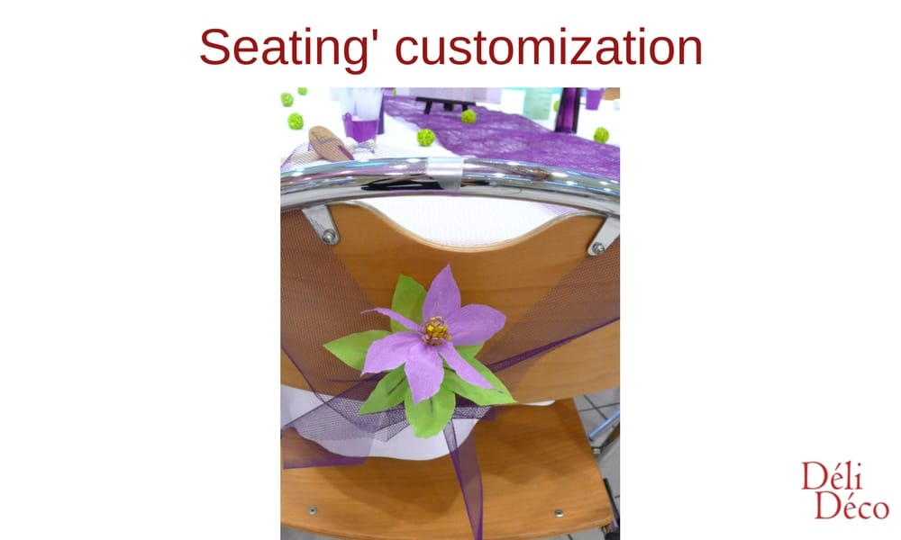 seating's customization
