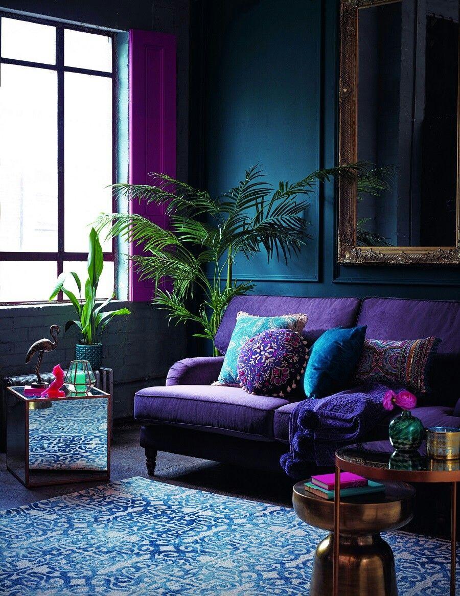 Décoration Mauve Et Gris le violet dans la décoration | délidéco - décoration intérieure