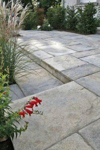 dalles de pierre reconstituée