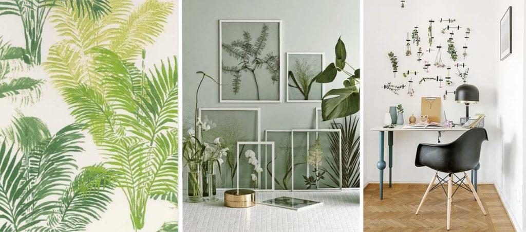 le végétal en décoration