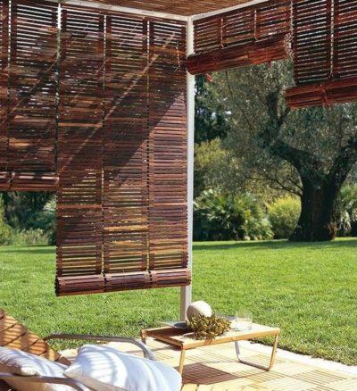 pergola en bambou