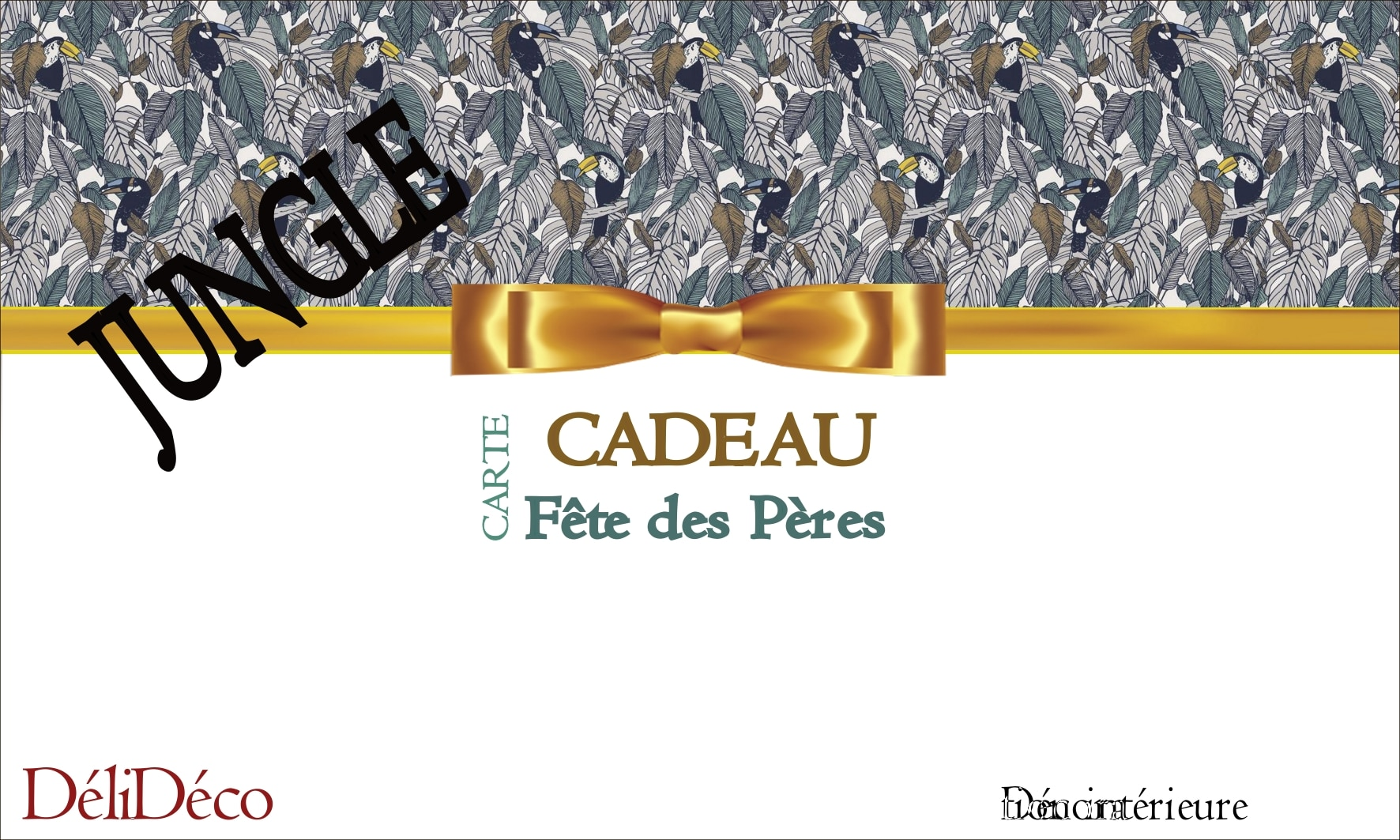 carte cadeau jungle