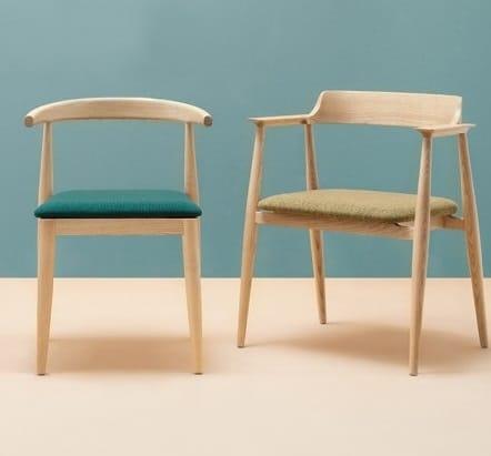 fauteuils de table minimalistes