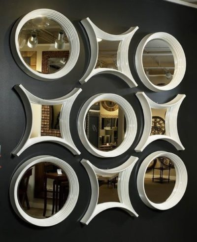 miroirs aux formes géométriques