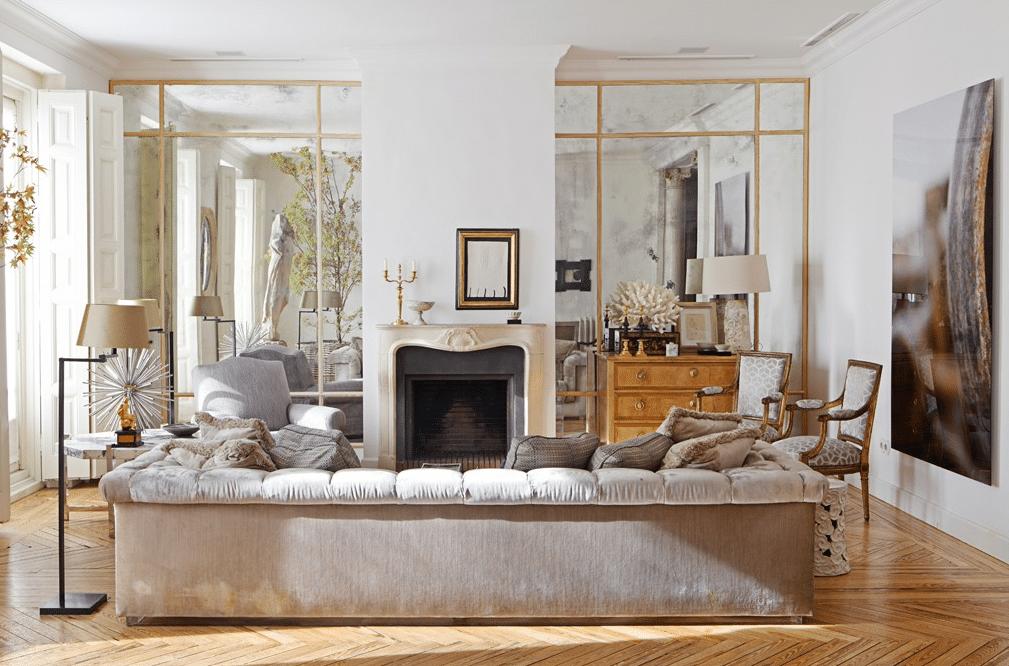 miroir dans la décoration