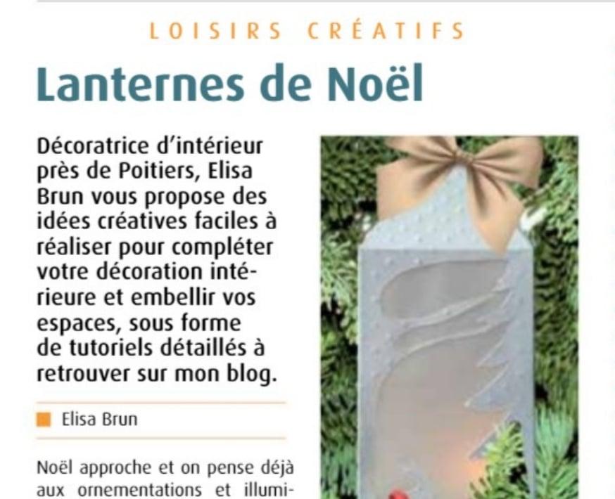 Article loisirs créatifs tuto lanternes papier