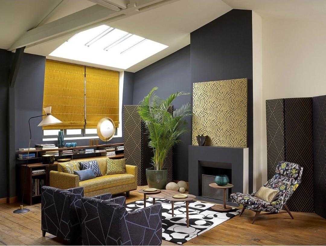 Idee Habillage Mur Interieur la couleur ocre : conseils et idées inspirantes pour votre