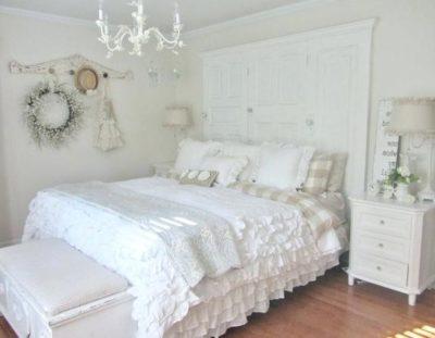 dentelle blanche en décoration