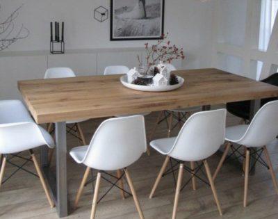 le blanc et le bois en décoration intérieure