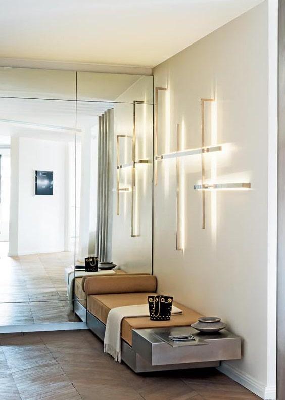 lumière design en applique
