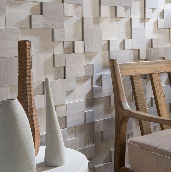 Carrelage mural cubes 3D
