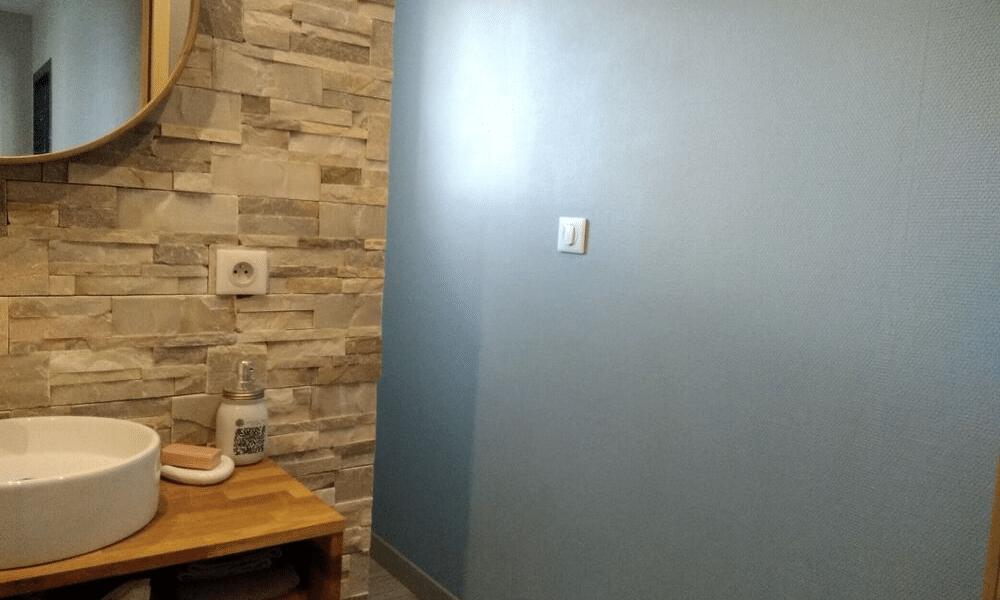 Ambiance douce pour la salle d'eau