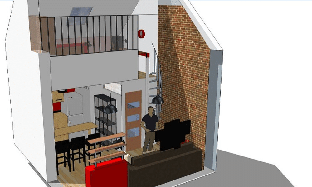Vue 3D loft