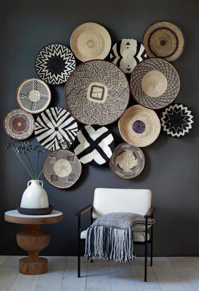 Accessoires décoratifs style ethnique