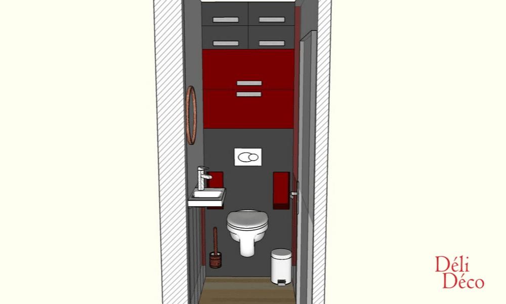 WC vue 3D de face