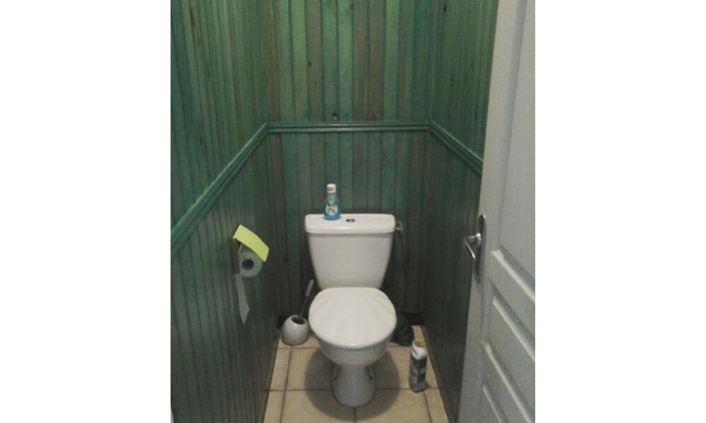 WC style années 70 vieillot