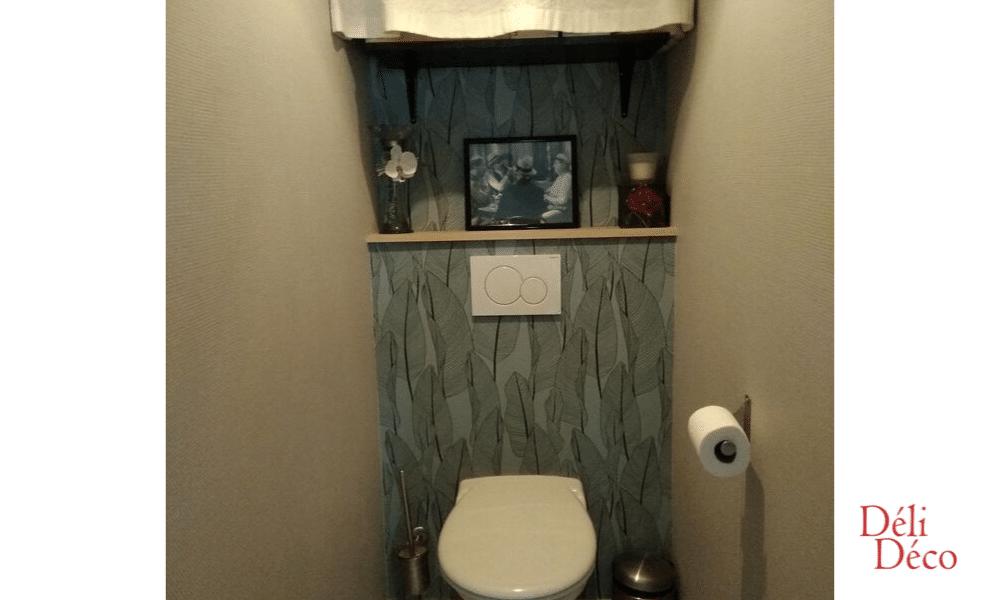Détails WC nature