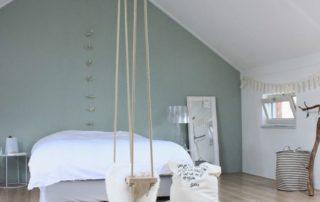 Vert sauge dans la chambre
