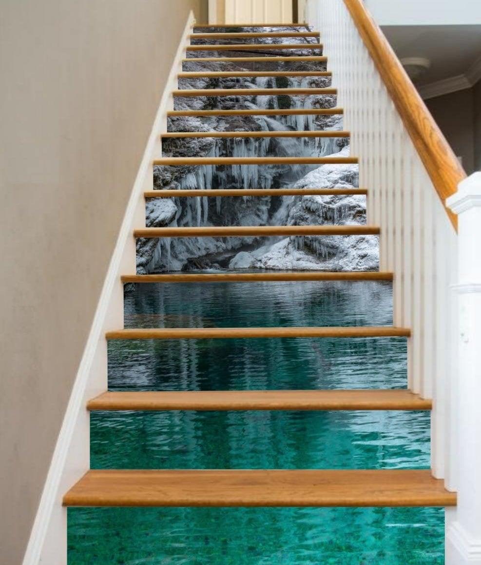 Escalier paysage