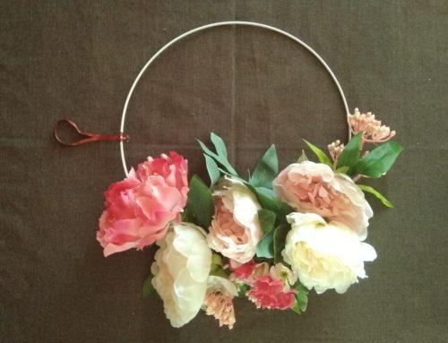 Tuto déco: DIY- Créer une couronne de Noël romantique