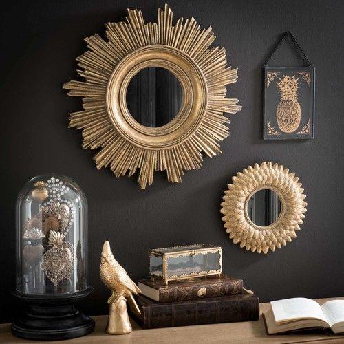 Miroirs dorés style classique