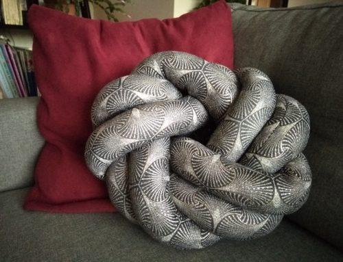 Tuto déco: DIY- Un coussin nœud