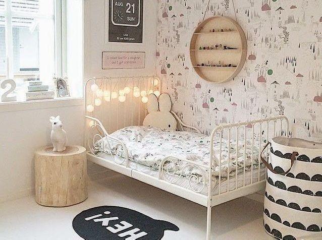Chambre enfant couleurs douces