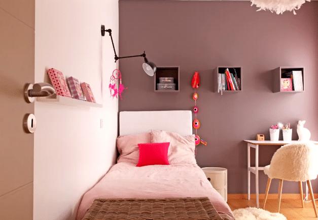 Chambre poudrée enfant