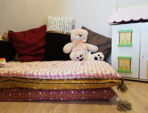 Tuto Déco DIY: un matelas de sol pour chambre d'enfant