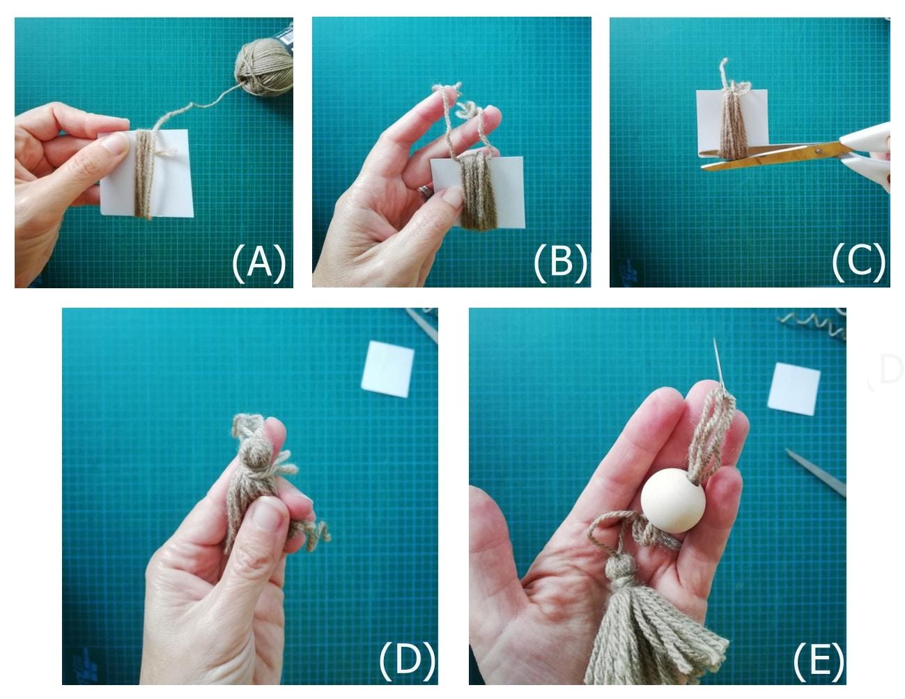 Réaliser des pompons glands