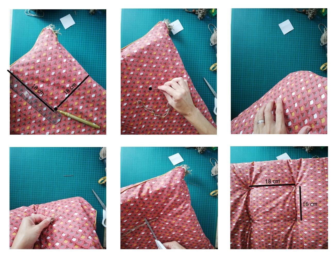 Matelassage tissu