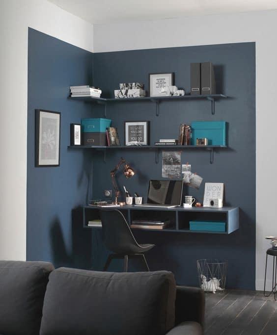 Délimiter un espace de travail par la couleur