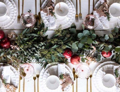 Cinq incontournables pour décorer sa table de fêtes