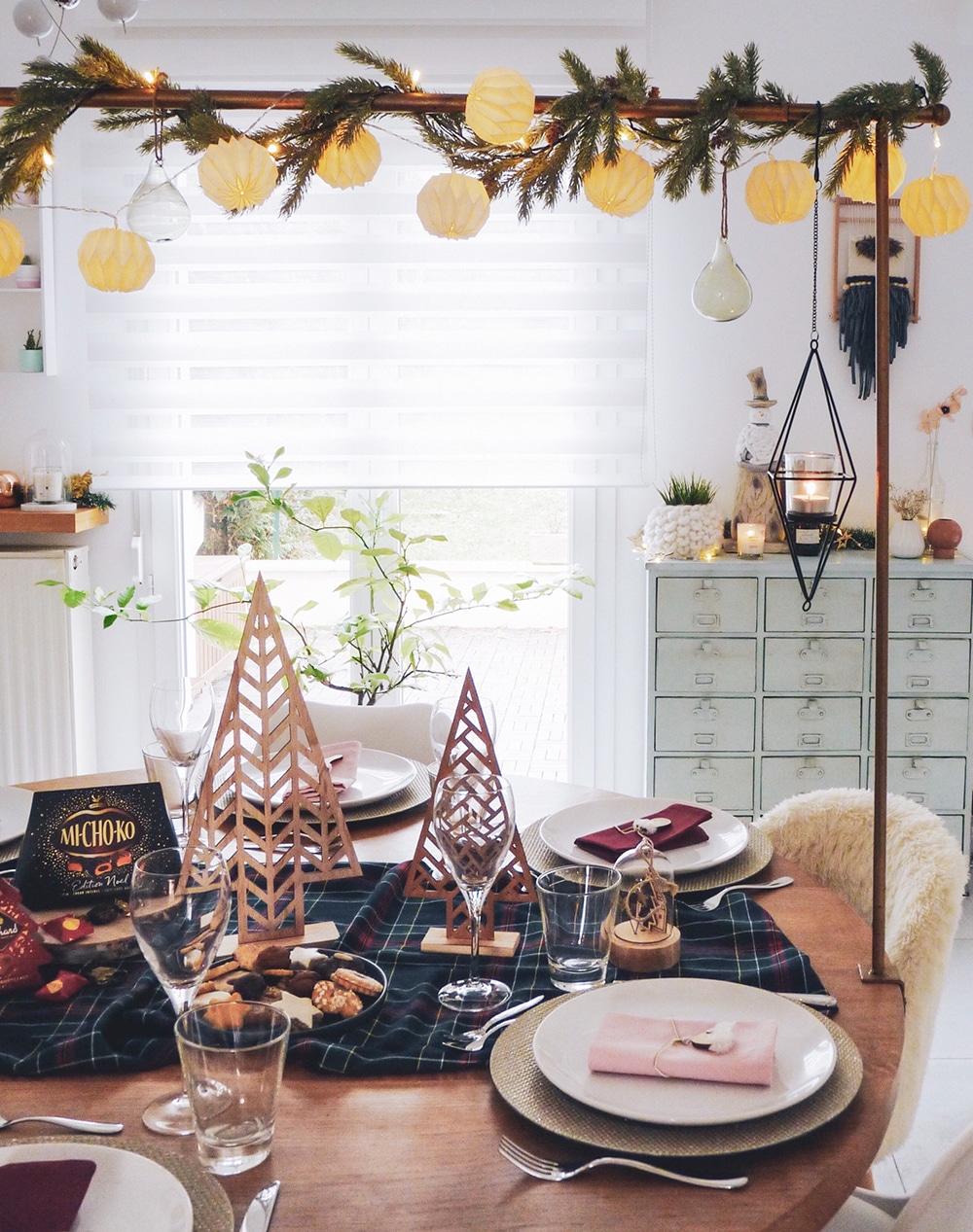 table-de-noël-minimaliste