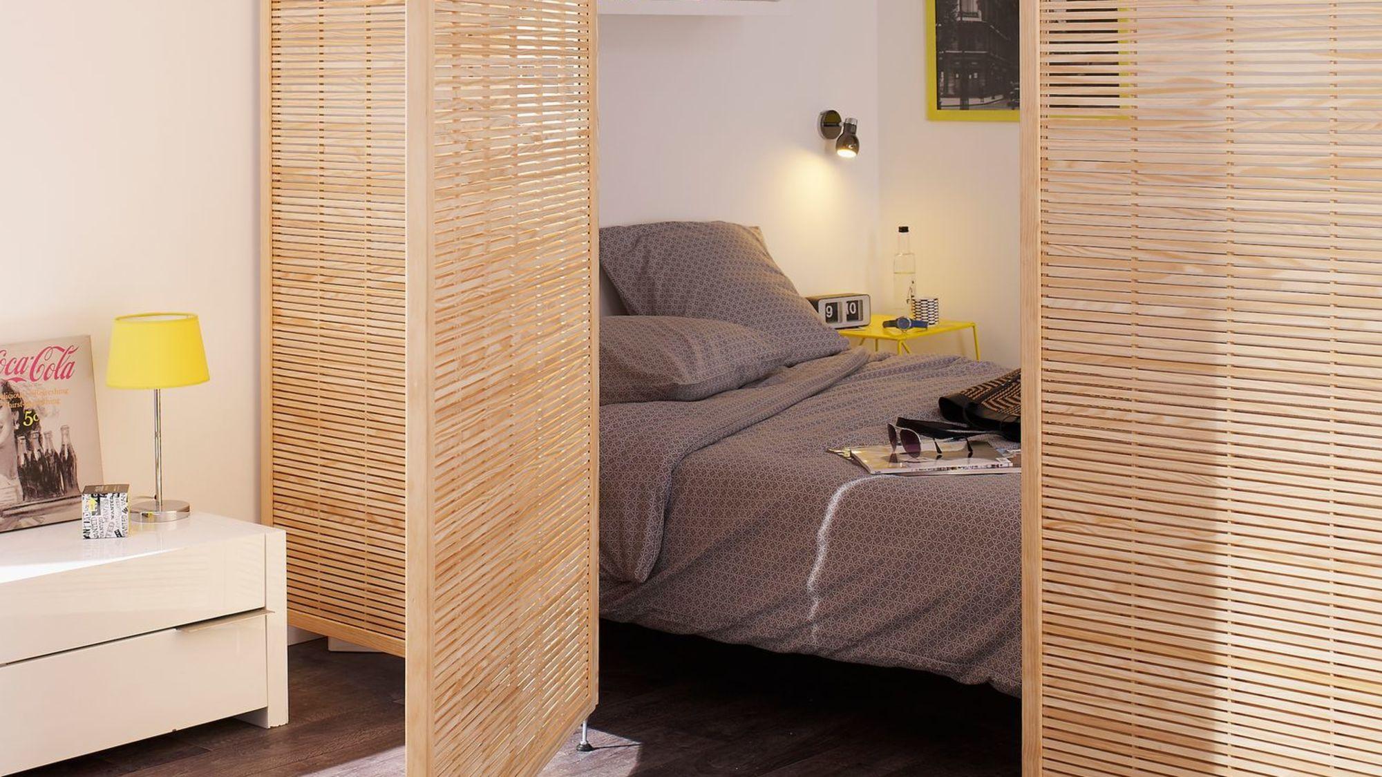 Cloison mobile en bois - Castorama