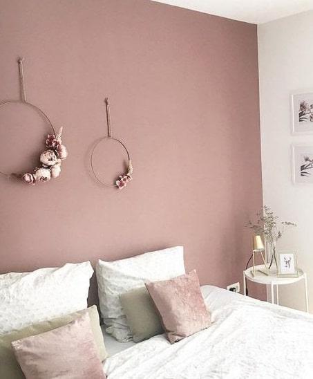 Vieux rose chambre