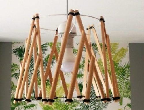 Tuto déco DIY #29: une suspension en bois